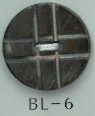 BL-6 2穴十字貝ボタン 阪本才治商店/オークラ商事 - ApparelX アパレル資材卸通販