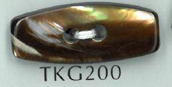 TKG200 2穴ダッフル貝ボタン 阪本才治商店/オークラ商事 - ApparelX アパレル資材卸通販