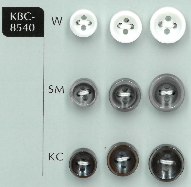 KBC-8540 4穴4MM厚くぼみ貝ボタン 阪本才治商店/オークラ商事 - ApparelX アパレル資材卸通販