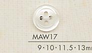 MAW17 DAIYA BUTTONS 貝調ポリエステルボタン 大阪プラスチック工業(DAIYA BUTTON)/オークラ商事 - ApparelX アパレル資材卸通販