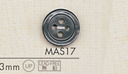 MAS17 DAIYA BUTTONS 貝調ポリエステルボタン 大阪プラスチック工業(DAIYA BUTTON)/オークラ商事 - ApparelX アパレル資材卸通販