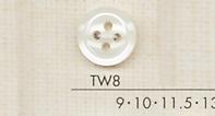 TW8 DAIYA BUTTONS 貝調ポリエステルボタン 大阪プラスチック工業(DAIYA BUTTON)/オークラ商事 - ApparelX アパレル資材卸通販