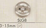 SLG8 DAIYA BUTTONS 貝調ポリエステルボタン 大阪プラスチック工業(DAIYA BUTTON)/オークラ商事 - ApparelX アパレル資材卸通販