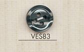 VES83 DAIYA BUTTONS 貝調ポリエステルボタン 大阪プラスチック工業(DAIYA BUTTON)/オークラ商事 - ApparelX アパレル資材卸通販