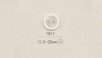 1811 DAIYA BUTTONS 二ツ穴ポリエステルボタン 大阪プラスチック工業(DAIYA BUTTON)/オークラ商事 - ApparelX アパレル資材卸通販