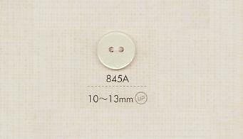 845A DAIYA BUTTONS 平型二つ穴ポリエステルボタン(花模様) 大阪プラスチック工業(DAIYA BUTTON)/オークラ商事 - ApparelX アパレル資材卸通販