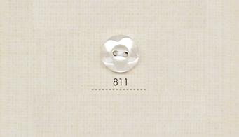 811 DAIYA BUTTONS 二つ穴貝調ポリエステルボタン(立体花) 大阪プラスチック工業(DAIYA BUTTON)/オークラ商事 - ApparelX アパレル資材卸通販