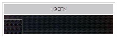 1QEFN YKKパワーフック普通タイプ(1.6mm)[ファスナー] YKK/オークラ商事 - ApparelX アパレル資材卸通販