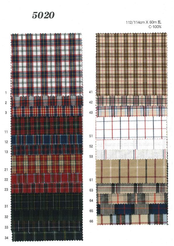 MU5020 ダンプチェック[生地] 植山織物/オークラ商事 - ApparelX アパレル資材卸通販