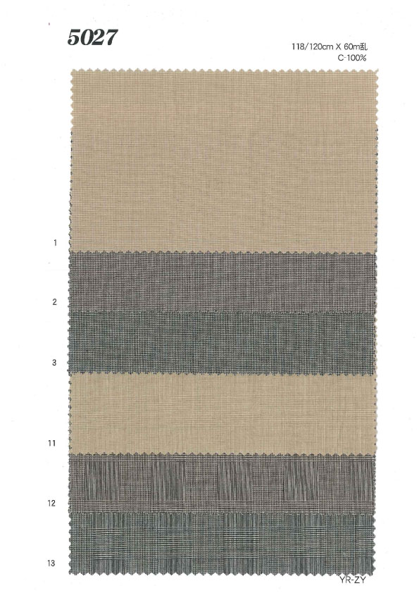 MU5027 グレンチェック[生地] 植山織物/オークラ商事 - ApparelX アパレル資材卸通販