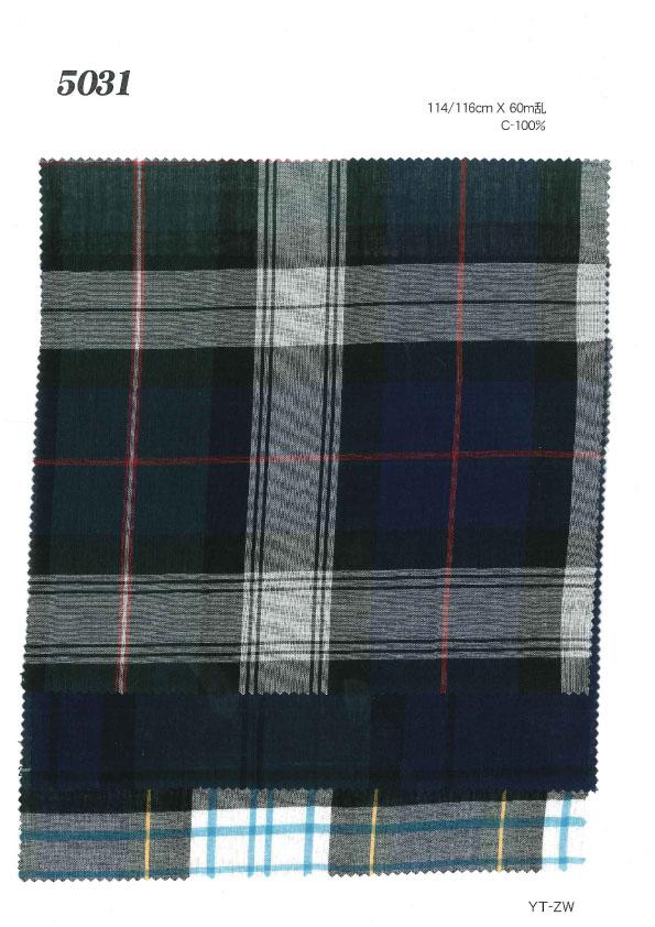 MU5031 ローンチェック[生地] 植山織物/オークラ商事 - ApparelX アパレル資材卸通販