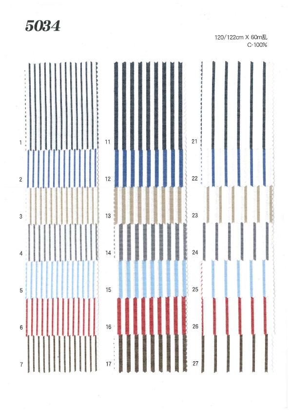 MU5034 ストライプ・チェック[生地] 植山織物/オークラ商事 - ApparelX アパレル資材卸通販