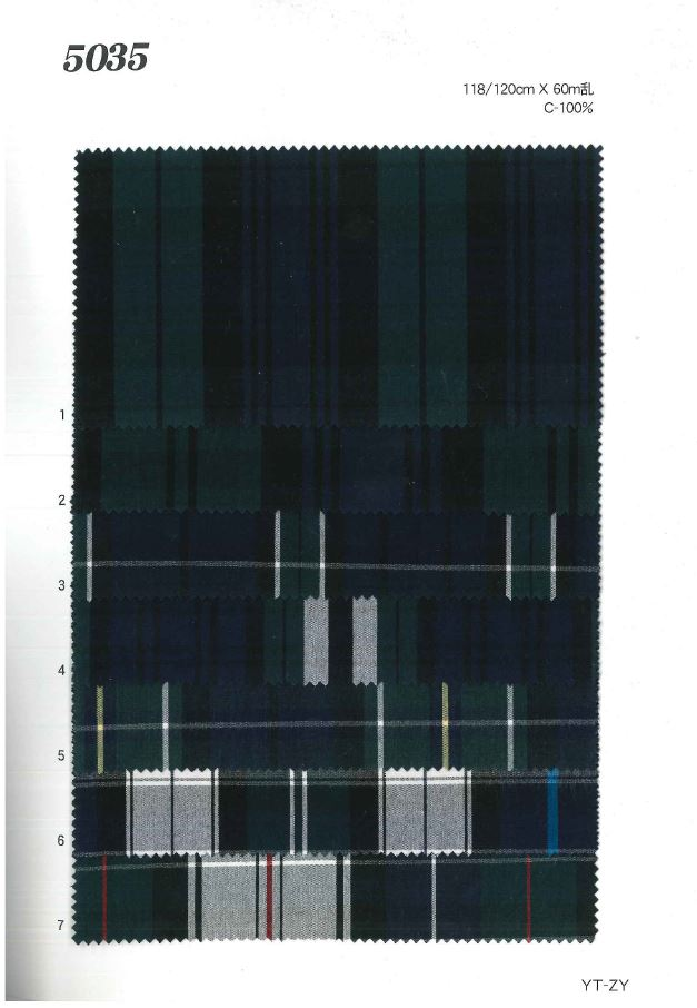 MU5035 チェック[生地] 植山織物/オークラ商事 - ApparelX アパレル資材卸通販