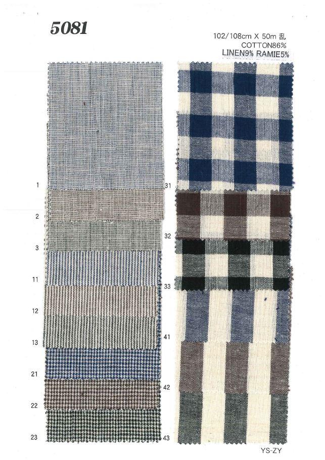 MU5081 綿リネンダンガリー[生地] 植山織物/オークラ商事 - ApparelX アパレル資材卸通販