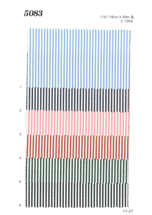 MU5083 オックス[生地] 植山織物/オークラ商事 - ApparelX アパレル資材卸通販