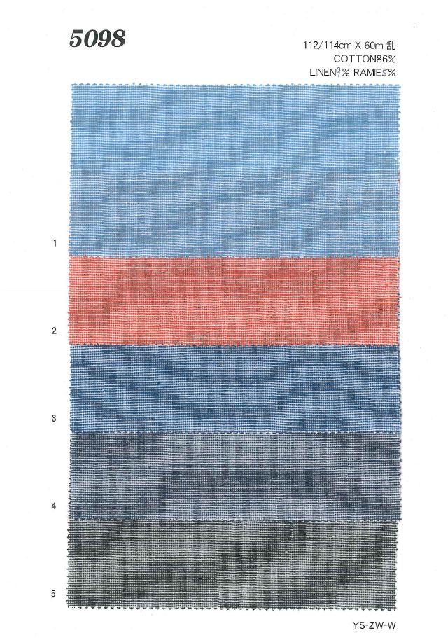MU5098 綿麻刷毛目[生地] 植山織物/オークラ商事 - ApparelX アパレル資材卸通販