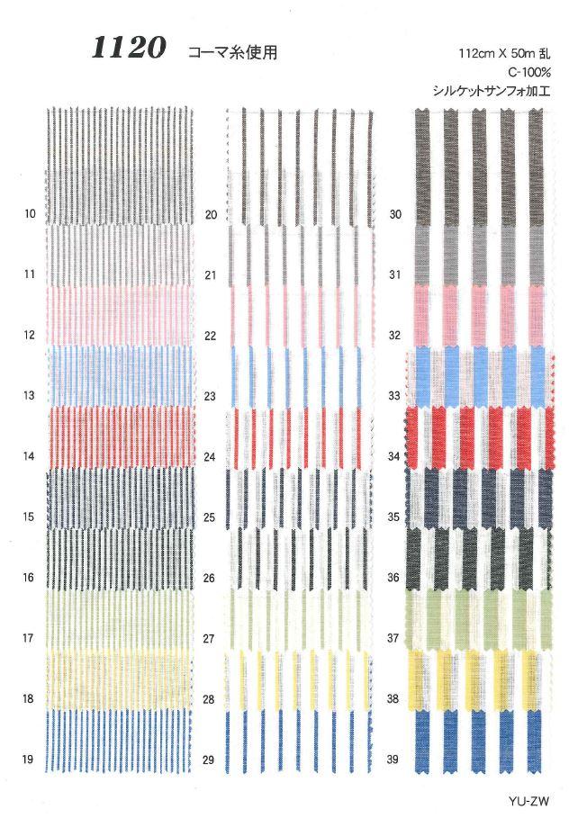 1120 ストライプ・チェック[生地] 植山織物/オークラ商事 - ApparelX アパレル資材卸通販