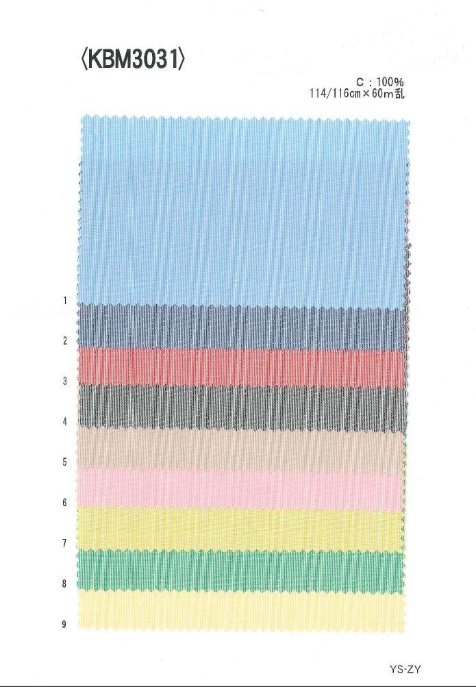 KBM3031 先染ヘアーライン[生地] 植山織物/オークラ商事 - ApparelX アパレル資材卸通販