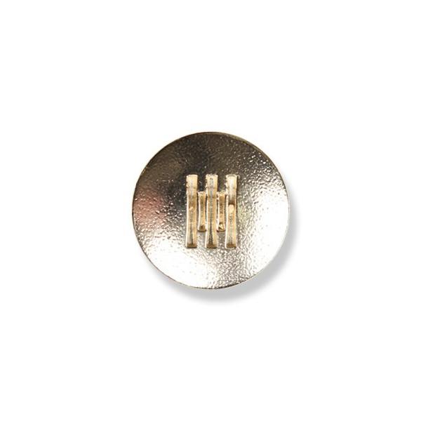 ML-17 イタリーメタルボタン ゴールドカラー UBIC SRL/オークラ商事 - ApparelX アパレル資材卸通販