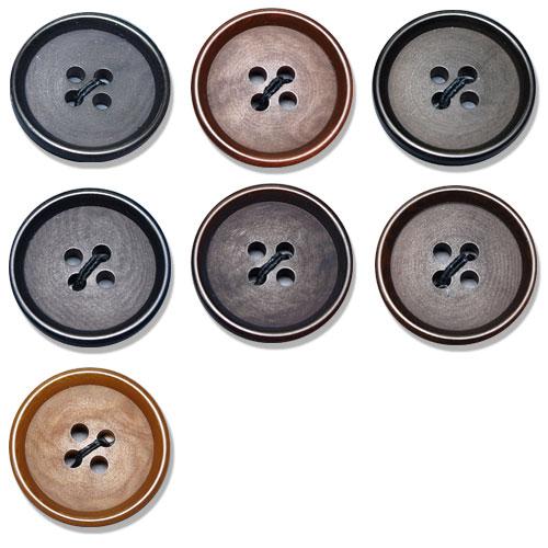 NUT970 ジャケット・スーツ用ナットボタン アイリス/オークラ商事 - ApparelX アパレル資材卸通販