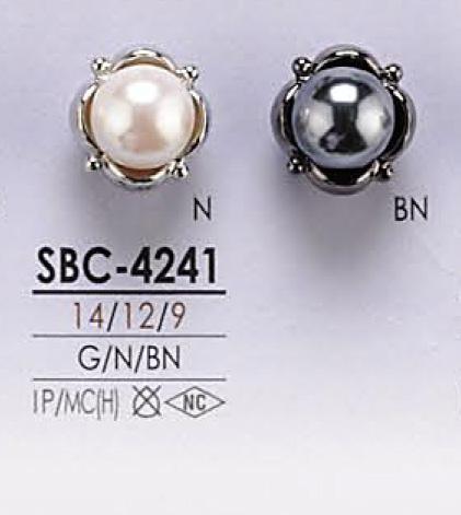 SBC4241 パール調 ボタン アイリス/オークラ商事 - ApparelX アパレル資材卸通販