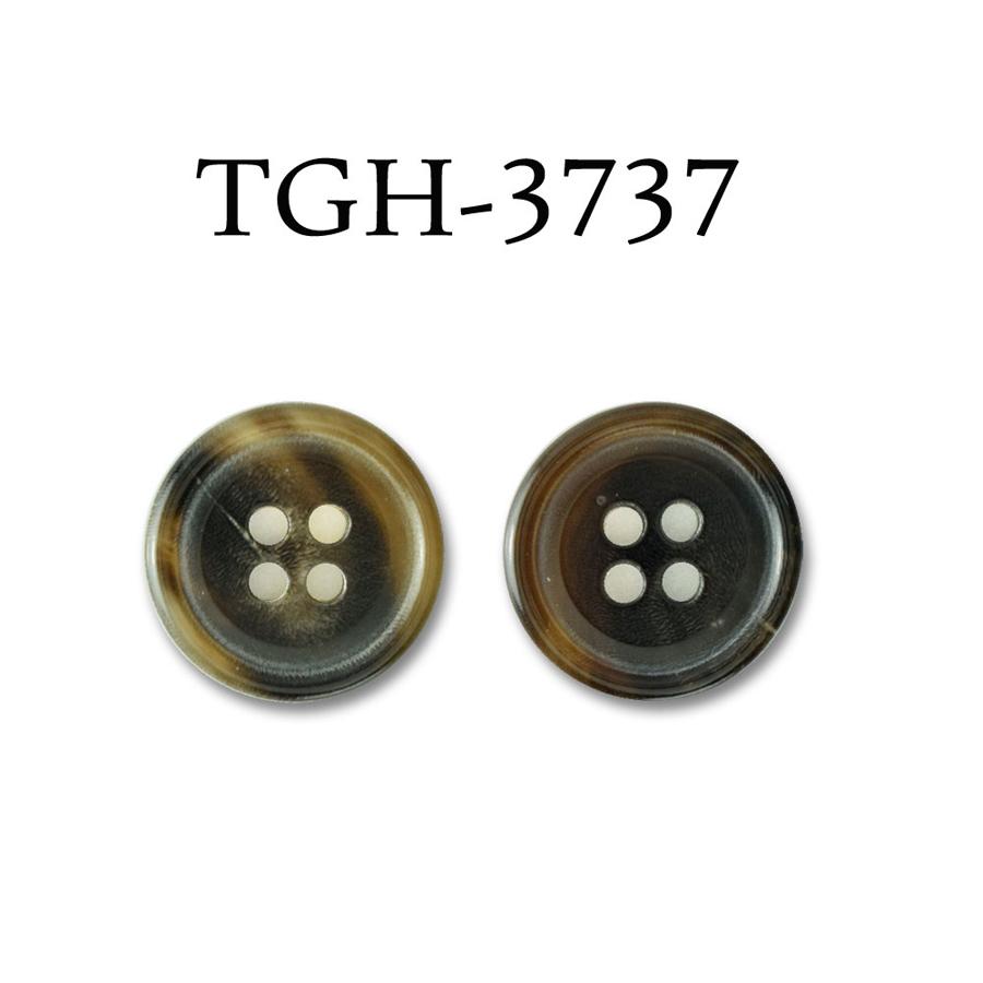 TGH3737 オリジナル 水牛4穴ボタン オークラ商事 - ApparelX アパレル資材卸通販