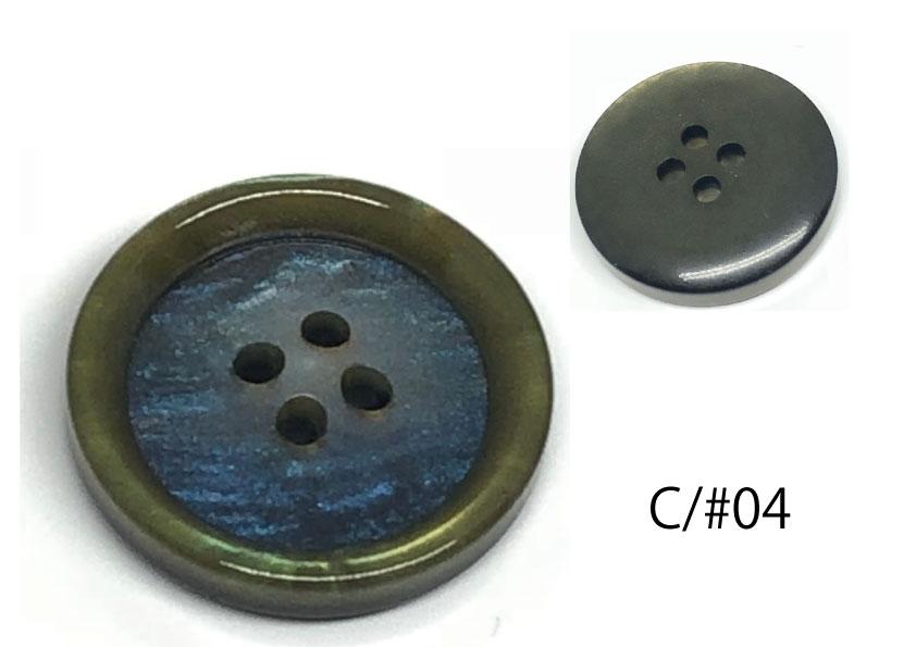 ジャケット・スーツ用貝調ボタン 「シンフォニーシリーズ」 サブ画像
