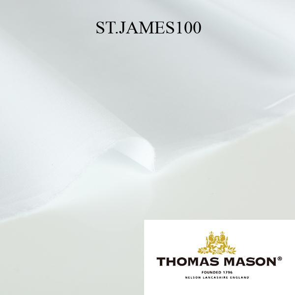 F334766 THOMAS MASON トーマスメイソン 平織り 100双 シャツ生地 THOMAS MASON/ヤマモト - ApparelX アパレル資材卸通販