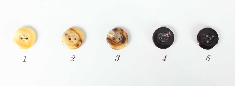 スイギューDX スーツ・ジャケット向け 本水牛ボタン ヤマモト - ApparelX アパレル資材卸通販