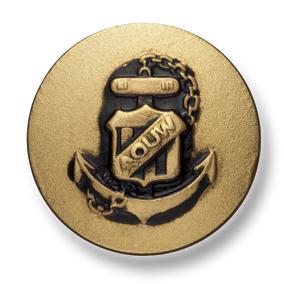 10B-G 国産 スーツ・ジャケット用メタルボタン ゴールド 小暮釦製作所/ヤマモト - ApparelX アパレル資材卸通販