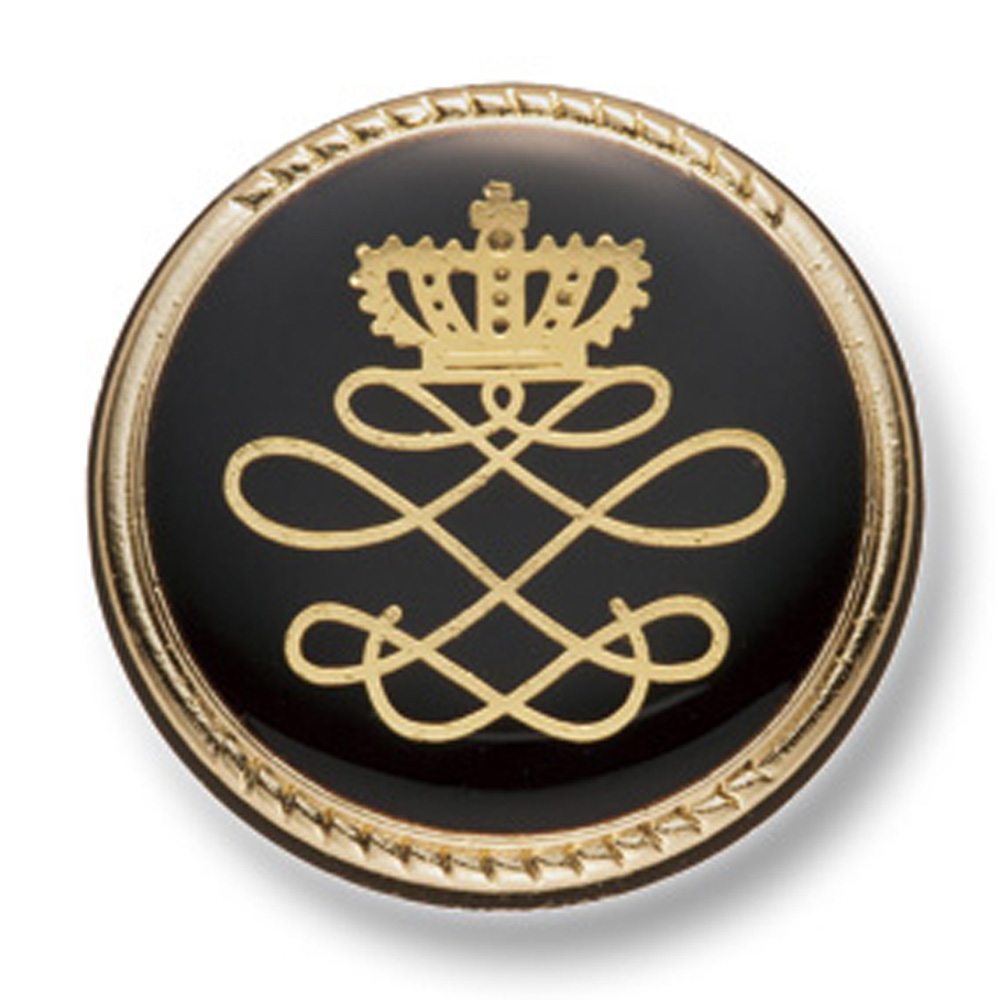 807 国産 スーツ・ジャケット向け メタルボタン ゴールド/ブラック ヤマモト(EXCY)/ヤマモト - ApparelX アパレル資材卸通販