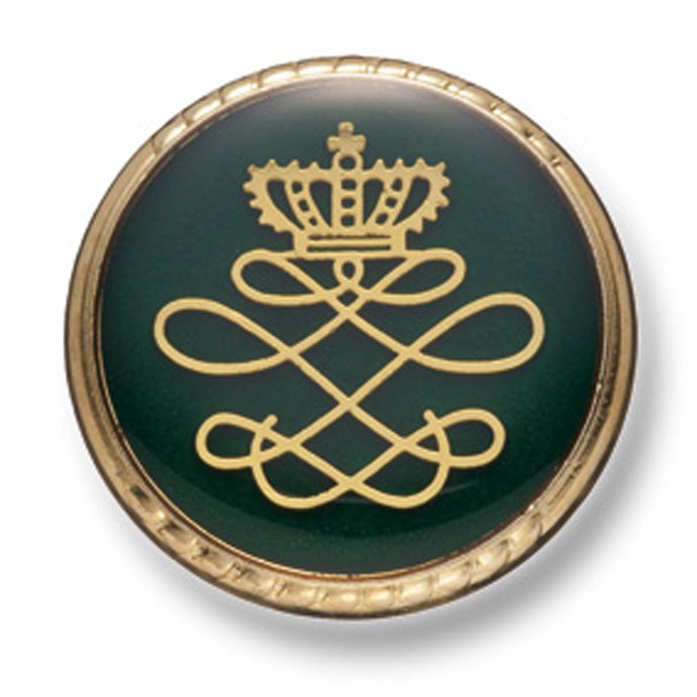 813 国産 スーツ・ジャケット向け メタルボタン ゴールド/グリーン ヤマモト(EXCY)/ヤマモト - ApparelX アパレル資材卸通販