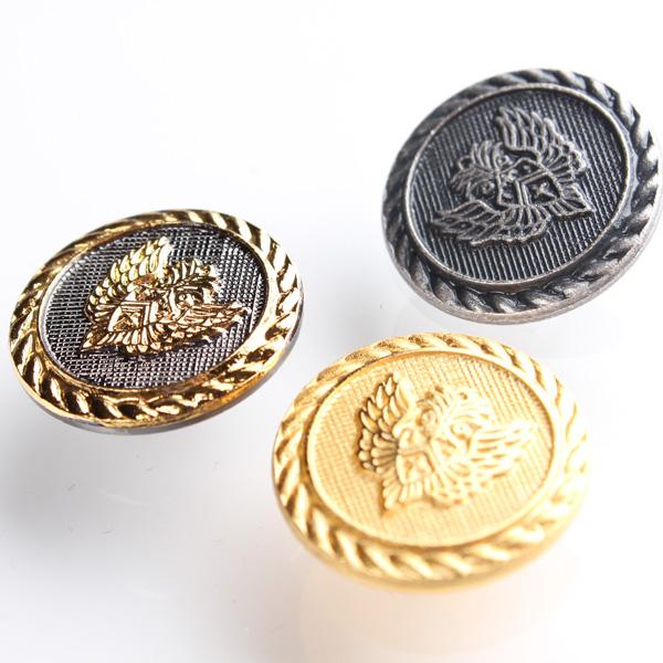 国産 スーツ・ジャケット用メタルボタン ゴールド サブ画像