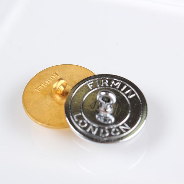 Firmin&Sons スーツ・ジャケット用メタルボタン ゴールド サブ画像