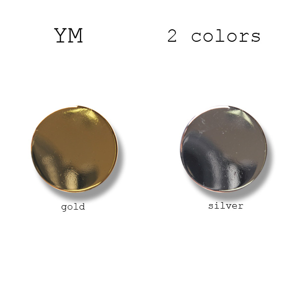 YM-平 国産 スーツ・ジャケット用メタルボタン ヤマモト(EXCY)/ヤマモト - ApparelX アパレル資材卸通販